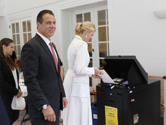 Cuomo voting