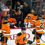 Flyers fall to Penguins 4-1