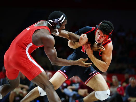 Rutgers wrestling stuns no 4 nebraska for first big ten for 16 wrestlers and their huge homes