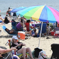 Delaware beaches on Memorial Day weekend