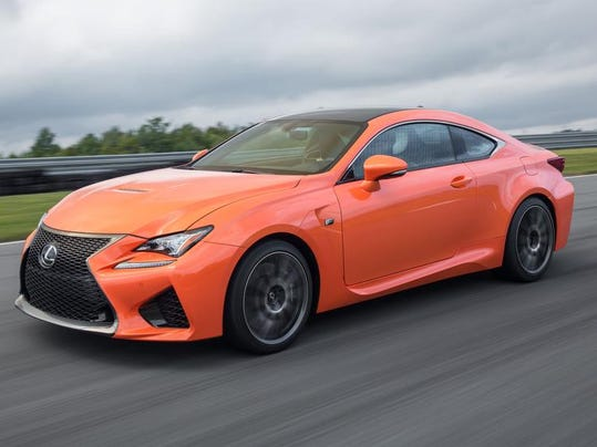 Roarin Rc F Coupe Wakes Up Staid Lexus