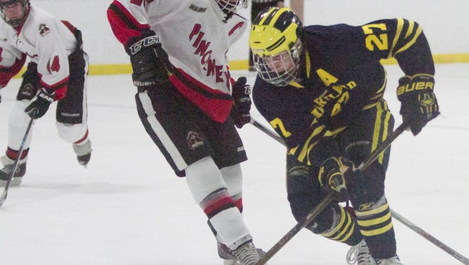 Hartland's Josh Albring took over the state lead in assists, collecting six against Novi to boost his total to 35.