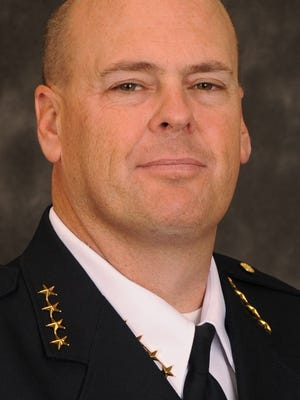 Mesquite Police Chief Troy Tanner