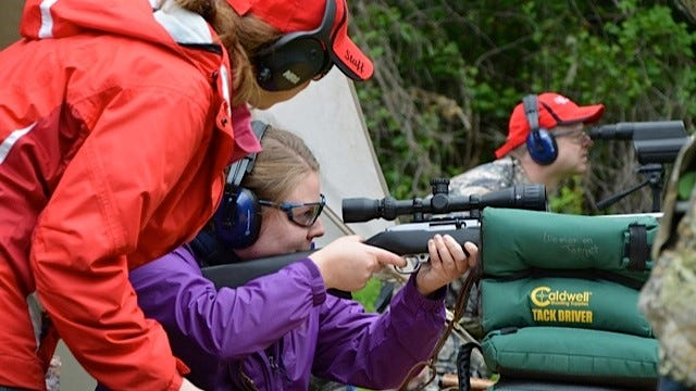 Salem-area women can pick up skills from rifle and pistol shooting to archery and Dutch oven cooking at the NW Ladies Hunting Camp on June 12-14 at Luckiamute Valley Pheasants about a half-hour from Salem. An increase in women in hunting has captured the attention of the hunting and shooting sports industries.