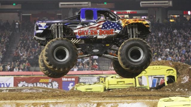 The Monster Jam truck seriesis coming April 11 and 12 to the Resch Center in Green Bay.