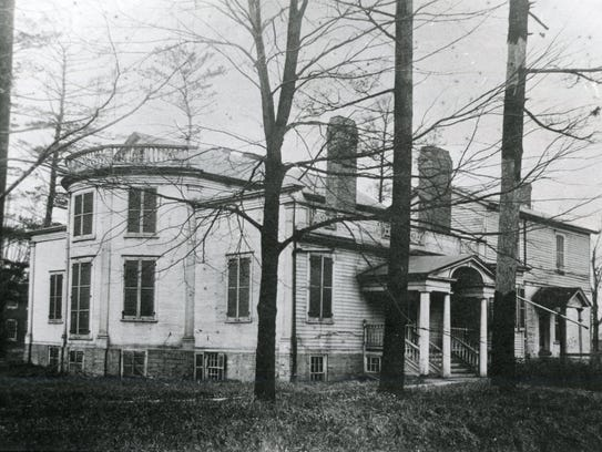 Joshua Whitney's home on Upper Court Street.