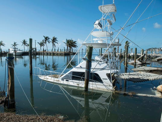 Hurricane irma boat captains fear they won 39 t stay afloat for Fishing resorts in florida