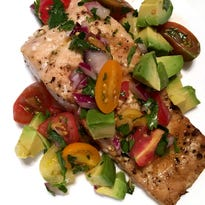 Full of healthful fat, salmon is one of the easiest fish to grill