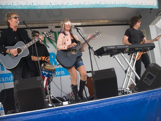 """The """"Carolyn Striho Band"""" performs during The 20th"""