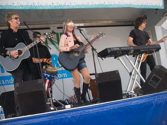 "The ""Carolyn Striho Band"" performs during The 20th Annual Ford Arts, Beats & Eats on Friday, Sept. 1, 2017, in downtown Royal Oak."
