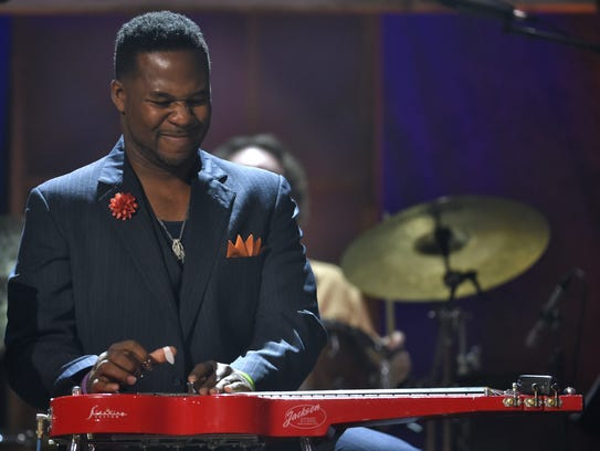 Robert Randolph performs during the Americana Music