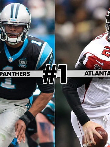 1. Panthers at Falcons: Week 17's only win-and-in matchup