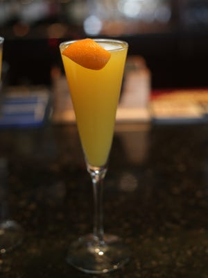 Once a month, if you show up in your PJs at Pot Roast & Pinot, you could get a free mimosa.
