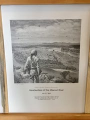 """""""Headwaters of the Missouri"""" is among a set of Lewis & Clark prints donated by Havre artist Don Greytak for the Old Trail Museum wild game feed fundraiser."""