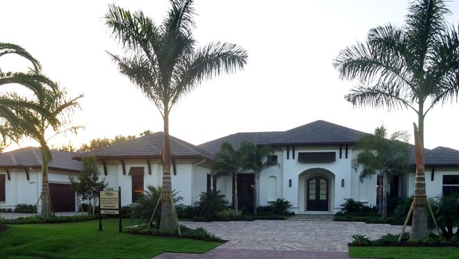 Basseterre estate home model by Diamond Custom Homes in Quail West has sold.