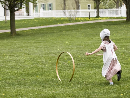 Visit the Genesee Country Village & Museum for old-fashioned fun.  Loyd C. Heath