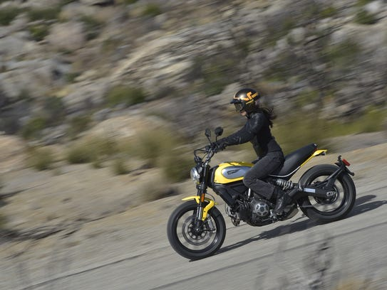The Icon is the cheapest Scrambler model, starting