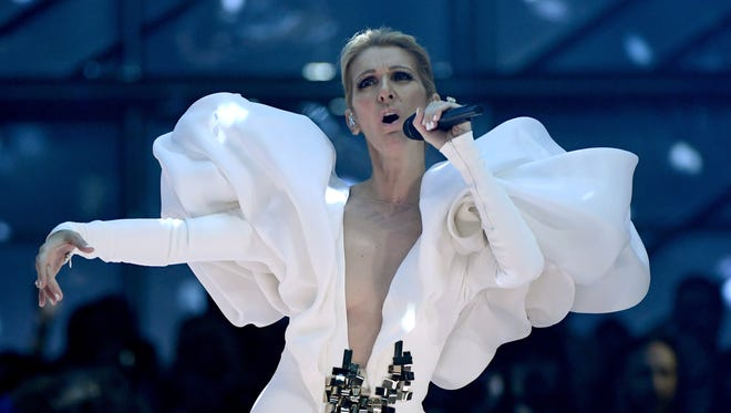 Celine Dion, shown here during the 2017 Billboard Music Awards, will perform in historic Jim Whelan Boardwalk Hall on February 22. Tickets go on sale Friday, April 12 at 10 a.m.