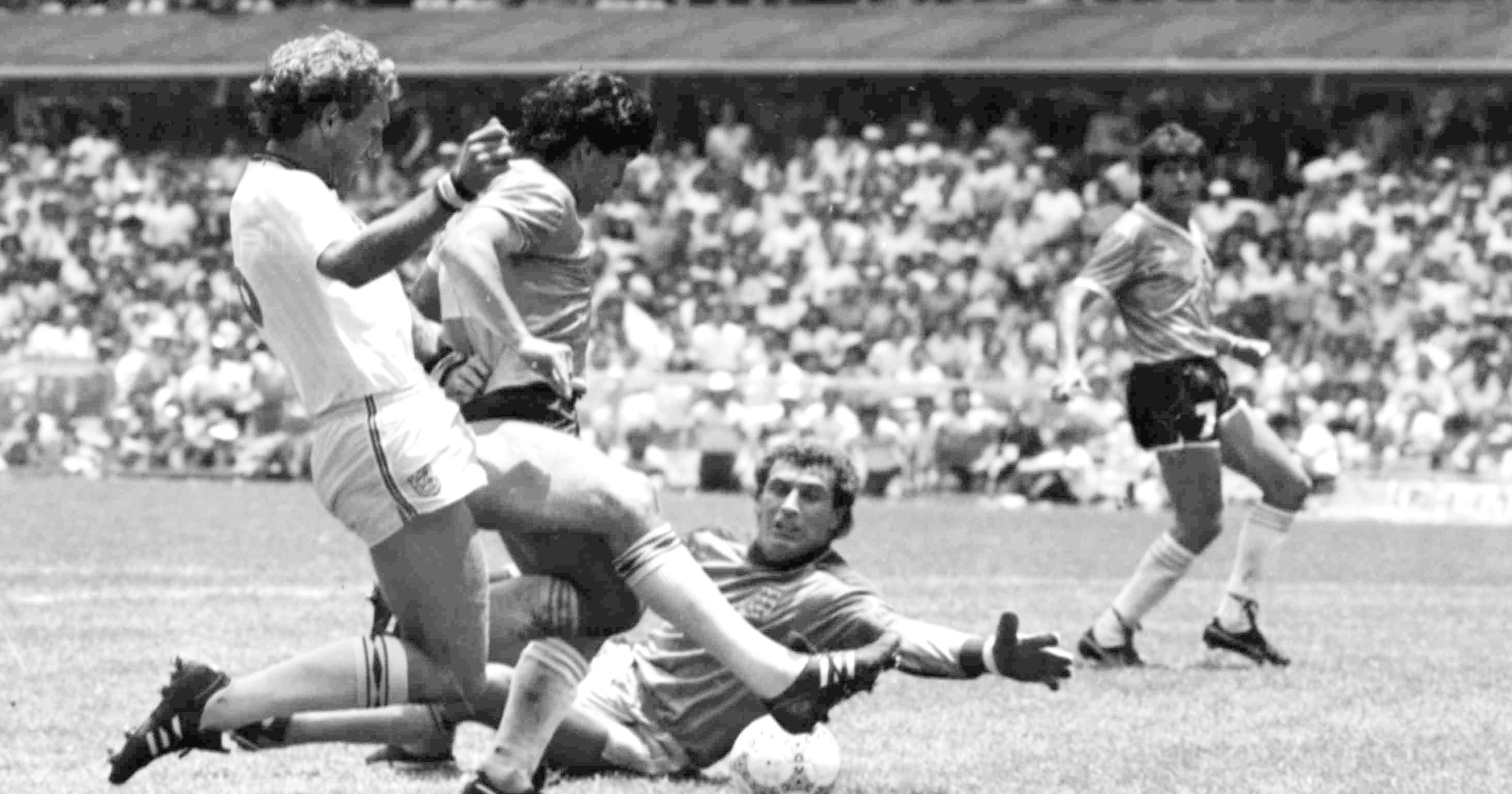 WORLD CUP: Maradona's 'Hand of God' goal in 1986