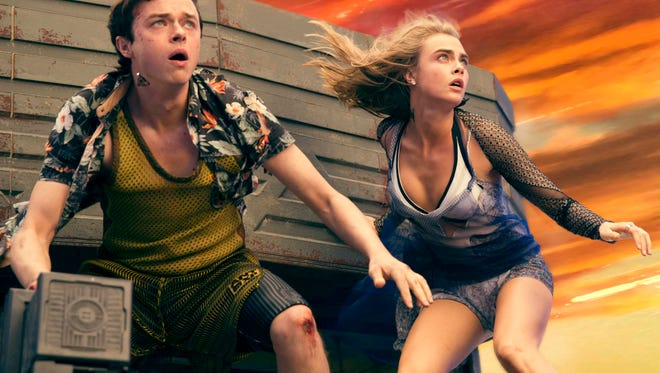 Dane DeHaan and Cara Delevingne star in EuropaCorp's  'Valerian and the City of a Thousand Planets.'