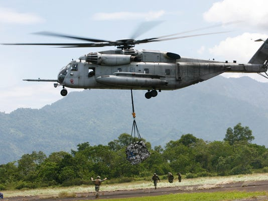 AP photo of a U.S. military helicopter