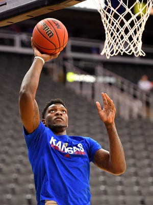 Former Kansas basketball forward Silvio De Sousa faces a charge for aggravated battery for an alleged incident that took place early on New Year's Day.