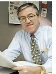 Peter Cronk retired from Fred Riger Advertising in