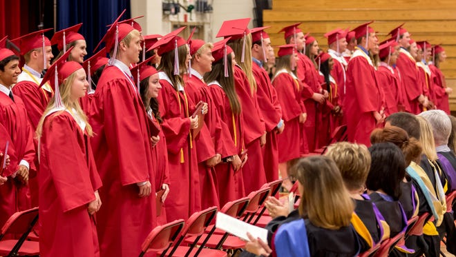 Newman Catholic High School held its graduation ceremony on Friday, May 26, 2017, at the high school.