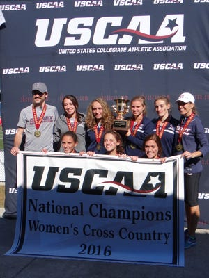 Cleary University won the United States Collegiate Athletic Association women's cross country championship last fall.