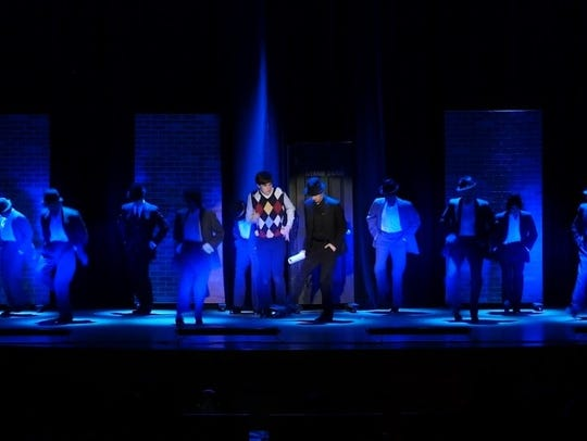 "Walter Panas High School's production of ""Bullets Over"