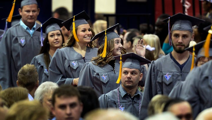 Tennessee community colleges see highest graduation rate, enrollment increase