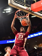 Florida State senior forward Jarquez Smith is hoping