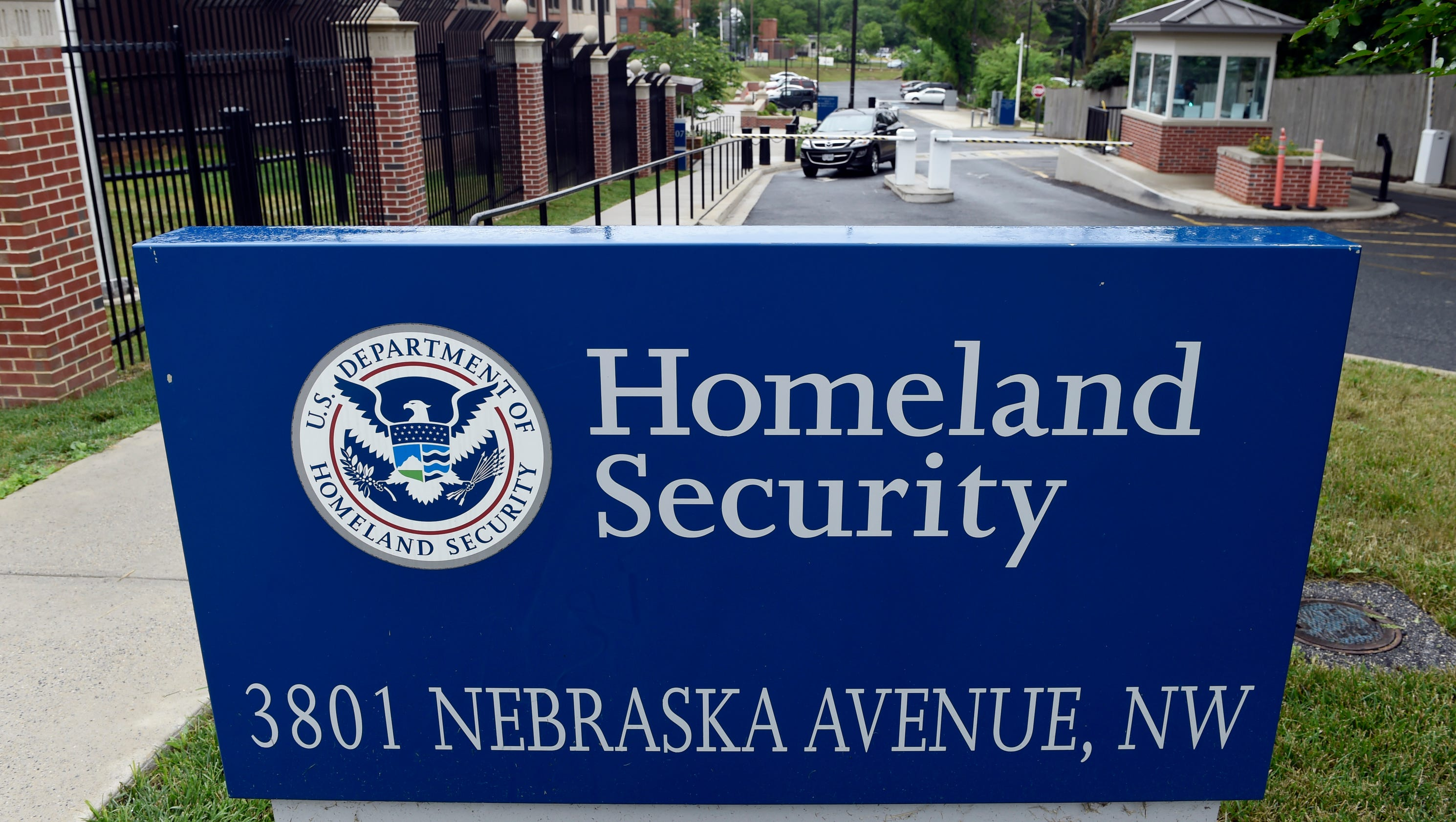 Image result for U.S. Department of Homeland Security, signs, signage