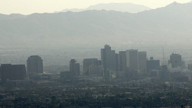The Arizona Department of Environmental Quality encourages individuals with respiratory problems to limit outdoor time.