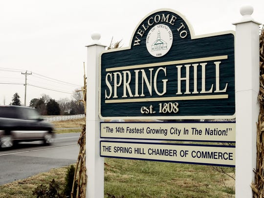 Spring Hill's Board of Mayor and Aldermen approved on first reading three proposed tax and fee hikes to generate millions of dollars in new revenue for future capital projects.