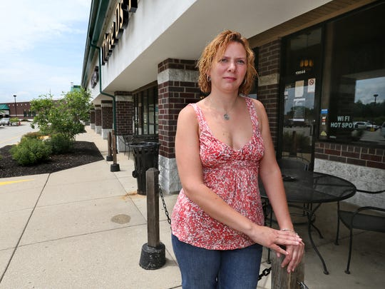 Erin Heller is the owner of Three D's Pub & Cafe in the Meridian Village retail center at 136th Street and U.S. 31 in Carmel. She opened her business there two years ago next month, but is struggling due to the closure of a stretch of U.S. 31.