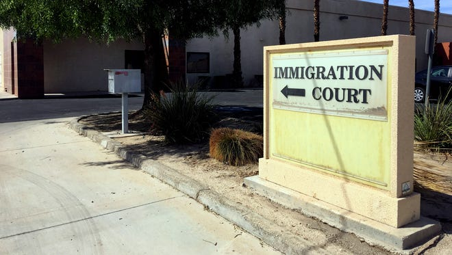 The federal government is paying almost $300,000 in rent annually for space for its Immigration Court in Imperial, Calif., that has not had a judge in almost two years.