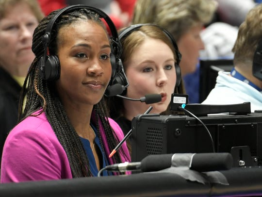 SEC Network duo Tamika Catchings, former Tennessee