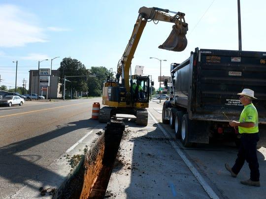 Brabston Trucking pipeline division has begun preliminary