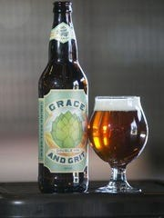 Brewed in Shreveport, Grace and Grit has strong tropical aromas derived from massive amounts of Citra and Amarillo hops