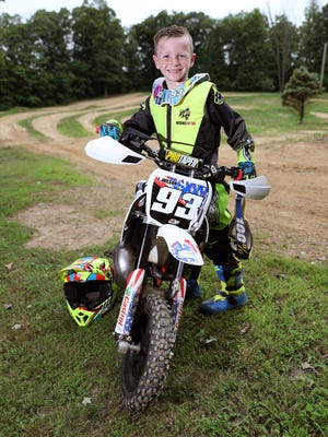 Seven-year-old Logan Wilson has qualified for the Rocky Mountain ATV/MC AMA Amateur National Motocross Championships.