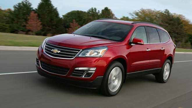 The 2016 Chevrolet Traverse has 80% U.S./Canadian content, according to the National Highway Traffic Safety Administration/American Automobile Labeling Act.
