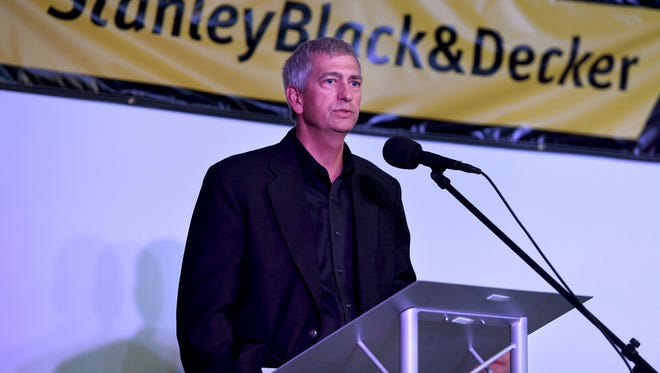 Don Tucker, manager of Stanley Black & Decker's Jackson plant, talked about the new investment and jobs planned for the area.