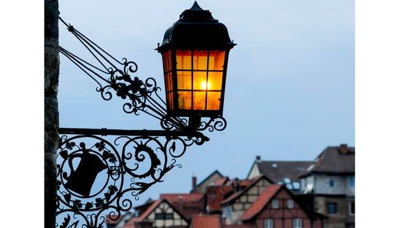 Quedlinburg at dusk.