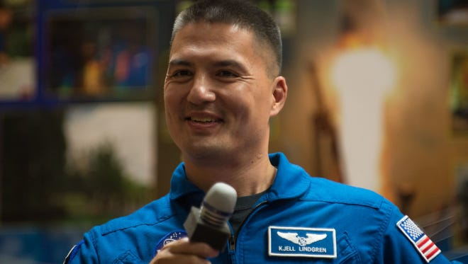 Dr. Kjell Lindgren will be at CSU on Tuesday giving talks about his time in space with NASA.