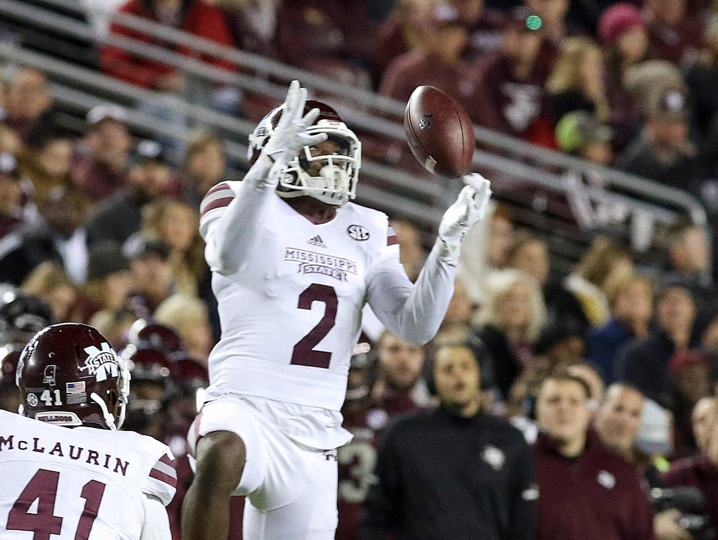 Mississippi State defensive back Jamal Peters, a former