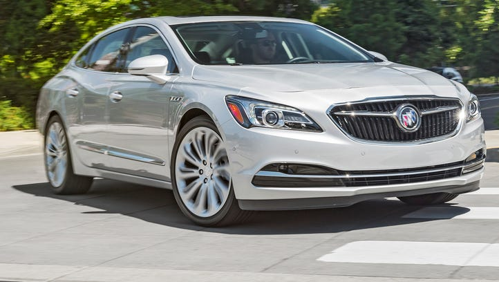 The 2017 Buick LaCrosse gets refreshed looks.