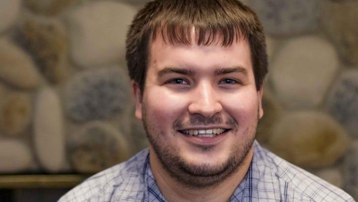 Travis Hartwig, candidate for state Treasurer