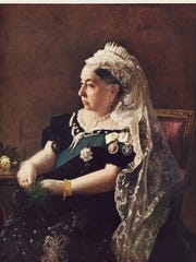 Queen Victoria ascended to the throne shortly after