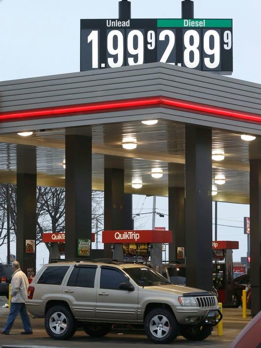 AP GAS PRICES MISSOURI A F USA MO